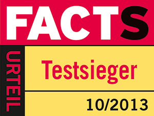 "FACTS ""Testsieger"""